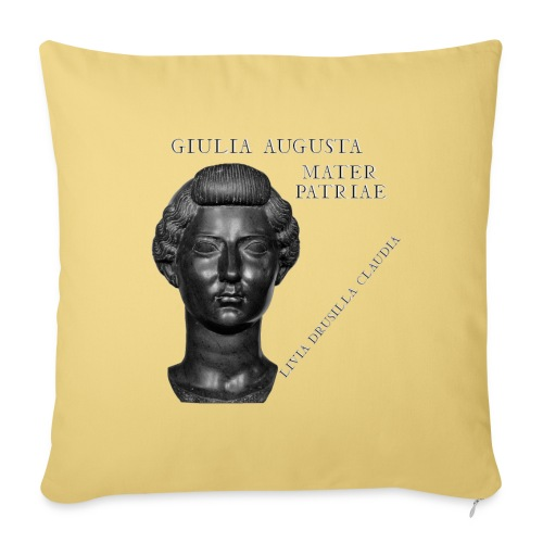 Livia Drusilla Claudia Giulia Augusta - Cuscino da divano 44 x 44 cm con riempimento