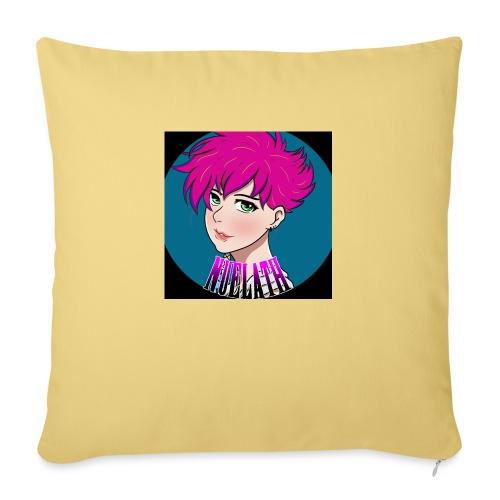 logo final - Sofa pillow with filling 45cm x 45cm