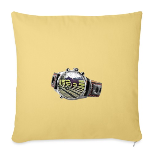 Horse in a watch - Sofa pillow with filling 45cm x 45cm