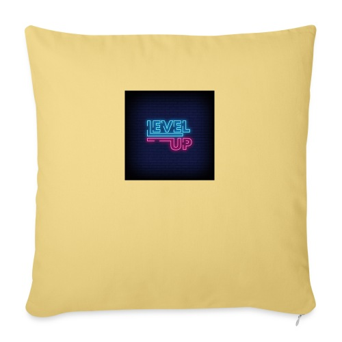 level up neon signboard 118419 1291 - Sofapude med fyld 44 x 44 cm