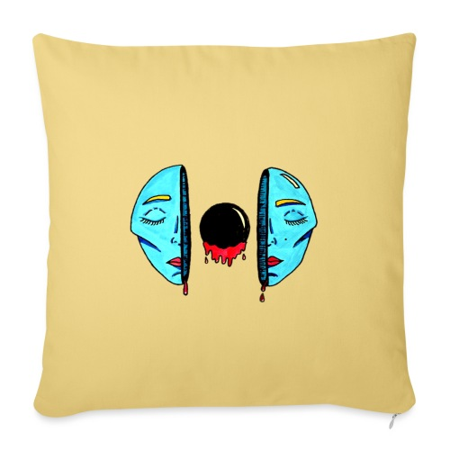 Existentialism - Sofa pillow with filling 45cm x 45cm