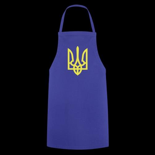 Ukraine Wappen Trident - Kochschürze