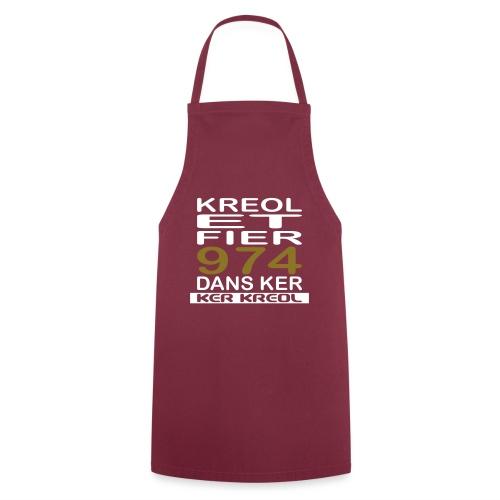 fier et kreol hom 02 ti - Tablier de cuisine