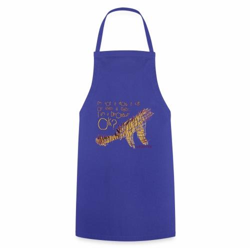I am Dinosaur - Fartuch kuchenny