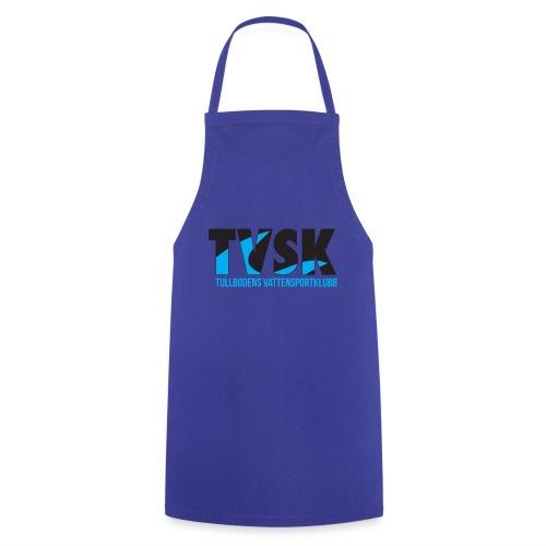 TVSKs färglogo - Förkläde