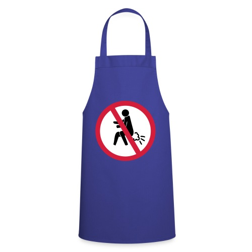 NO Farting Sign - Cooking Apron