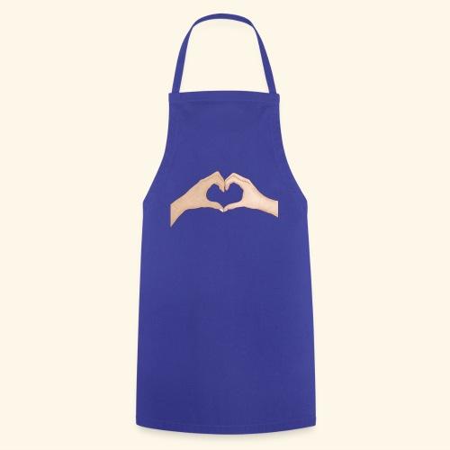 Mains Coeur Amour - Love hands - Tablier de cuisine