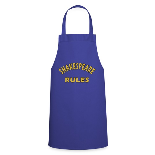 Shakespeare Rules - Cooking Apron