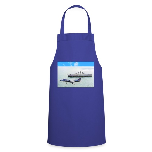 Sea harrier and Invicible digital oil - Cooking Apron