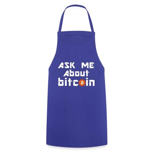Ask For Bitcoins - Kochschürze