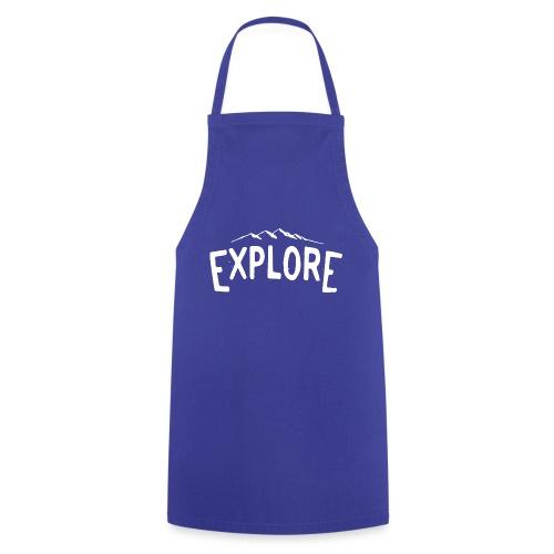 explore white png - Grembiule da cucina