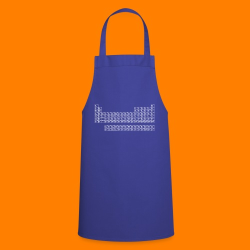 periodic white - Cooking Apron