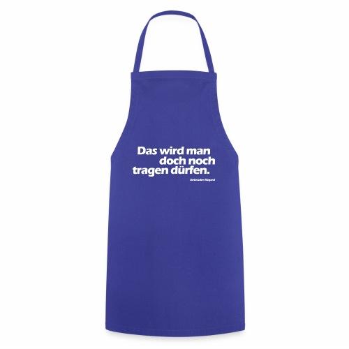 Kleidungsfreiheit - Kochschürze