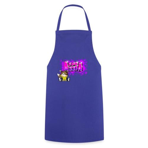 Graffiti ASSIA - Tablier de cuisine