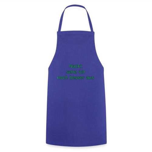 Nackt - Kochschürze