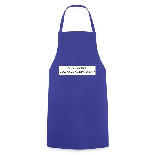 firma kurierska tyl - Fartuch kuchenny