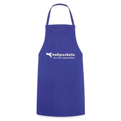 Balipockets Logo Weiß - Kochschürze