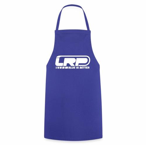 LRP Firmenlogo - Blue is better - White - Kochschürze