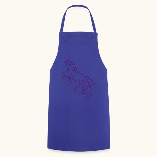 Rising Horse Floor Work cadeau amour fierté - Tablier de cuisine