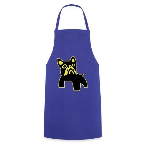 MadDog_kunst mit hund_out - Kochschürze