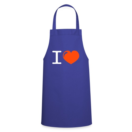 i love heart - Keukenschort