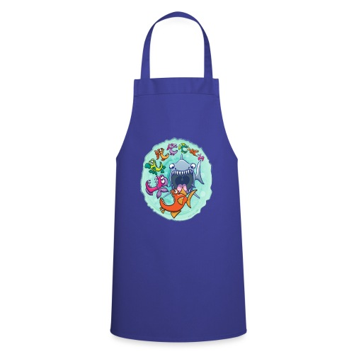 Big fish eat little fish and vice versa - Cooking Apron