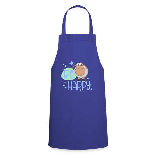 Be happy sheep - Happy sheep - lucky sheep - Cooking Apron