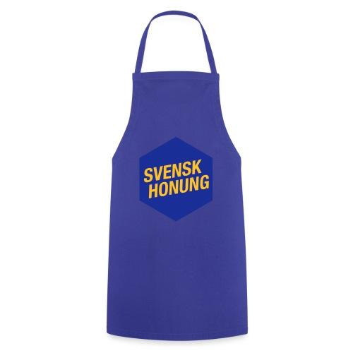 Svensk honung Hexagon Blå/Gul - Förkläde
