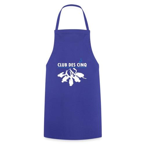 logo club des cinq - Tablier de cuisine