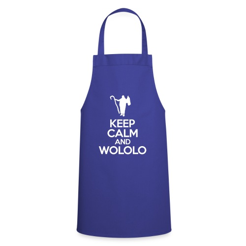 Keep calm and wololo - Delantal de cocina