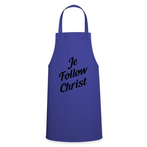 je follow christ - Tablier de cuisine