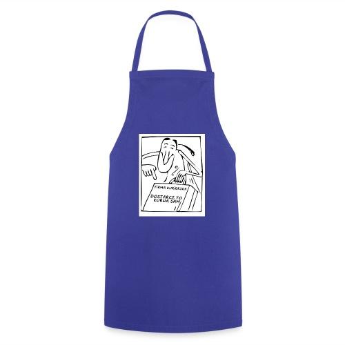firma kurierska przod - Fartuch kuchenny