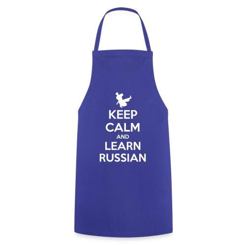 keep Calm - Learn Russian - Grembiule da cucina