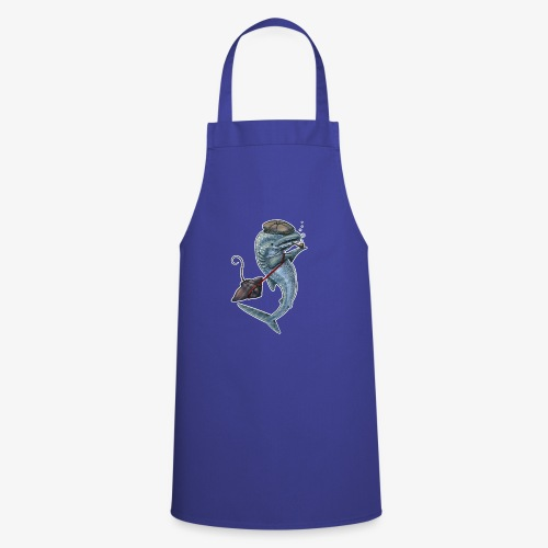 Whale Shark dark T - Cooking Apron