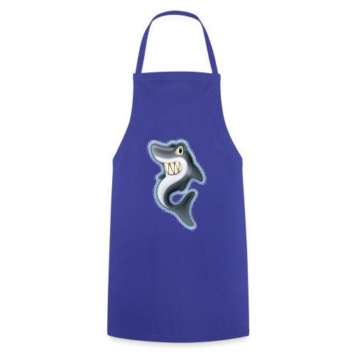 Cartoon Shark - Cooking Apron