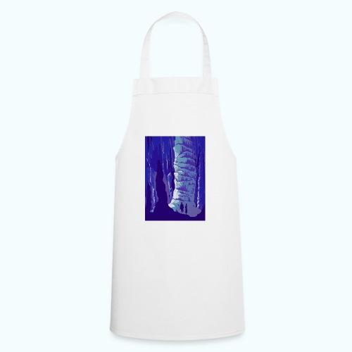 Fancy Grotto Vintage Travel Poster - Cooking Apron