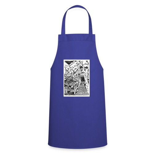 Sea Monsters T-Shirt by Backhouse - Cooking Apron