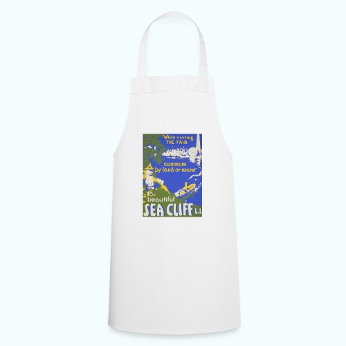 Lake travel vintage poster - Cooking Apron
