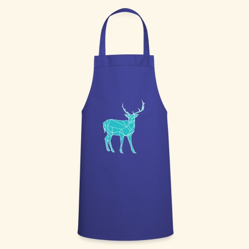 Blue Reindeer - Cooking Apron