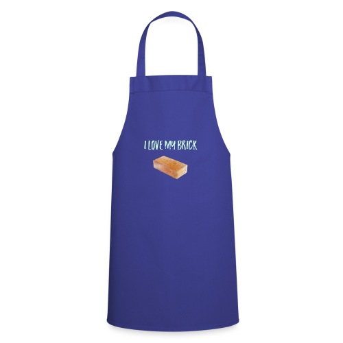 I love my brick - Cooking Apron