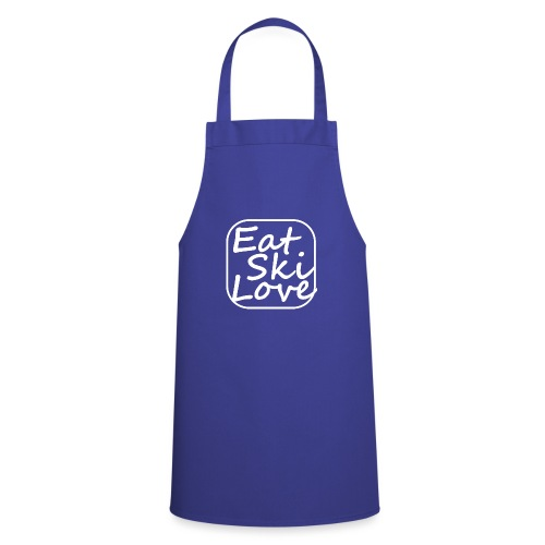 eat ski love - Cooking Apron