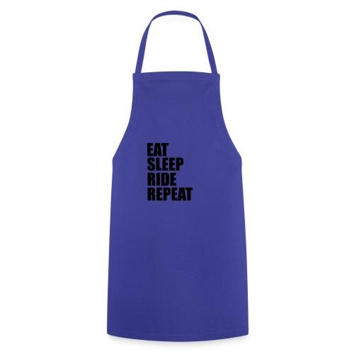 Eat sleep ride repeat - Grembiule da cucina