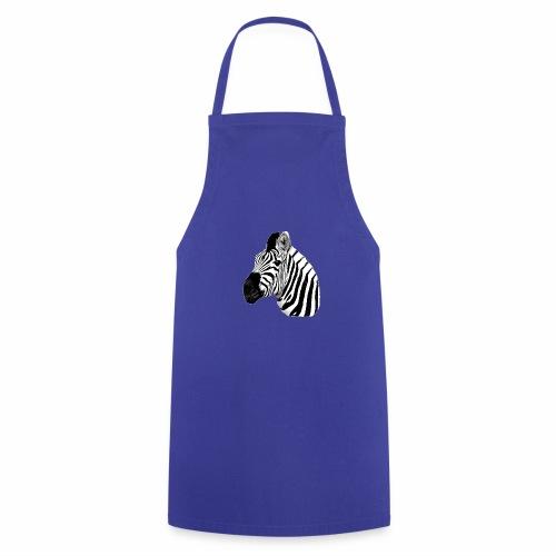 Cooles Zebra - Kochschürze