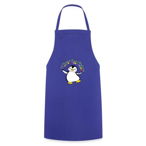 Pinguin Flower Power - Kochschürze