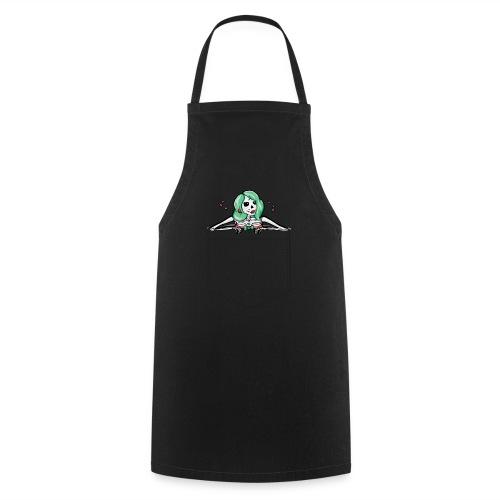 Sharon in der Hemdtasche - Kochschürze