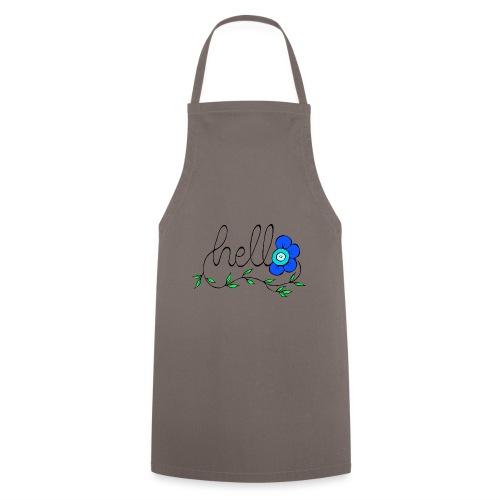 Hello Blume. - Kochschürze