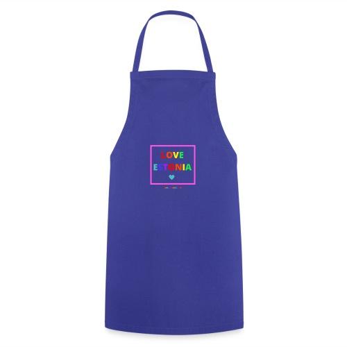 LOVE ESTONIA rainbow - Cooking Apron