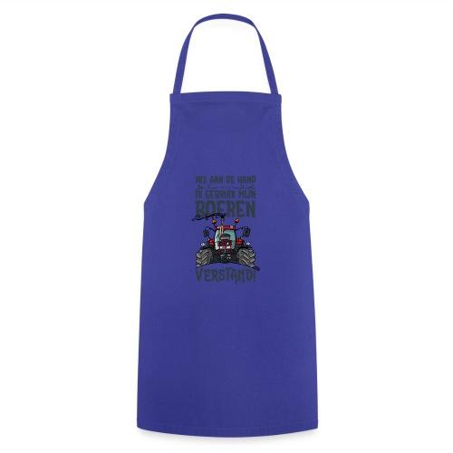 0505 CaseIH 1255, nix aan de hand - Keukenschort