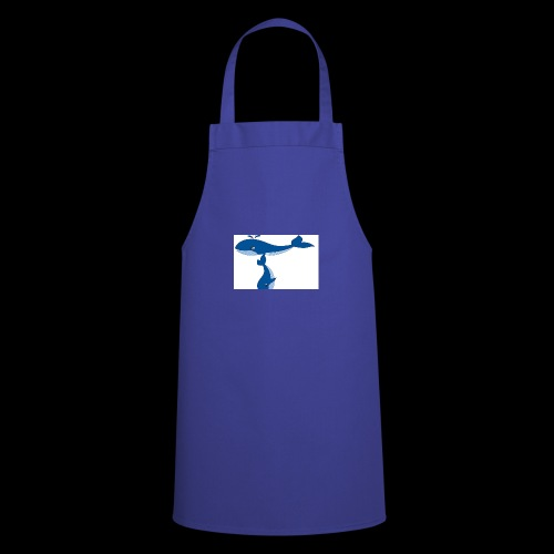 whale t - Cooking Apron
