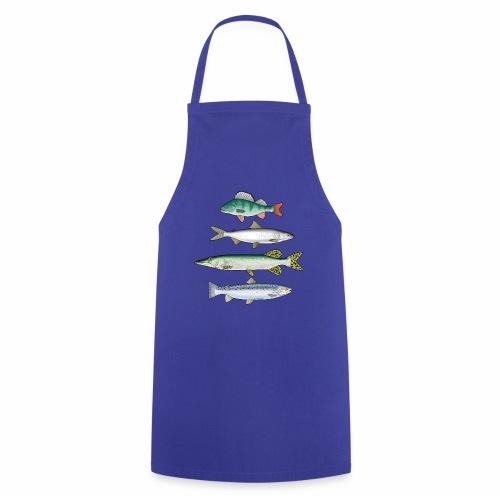 FOUR FISH - Ahven, siika, hauki ja taimen tuotteet - Esiliina